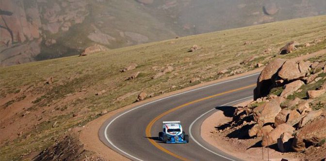 A Hot Rod Takes Pikes Peak..