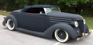 """""""The Man's"""" '36 Roadster Project…"""
