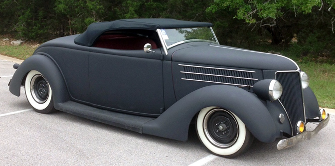 """The Man's"" '36 Roadster Project…"