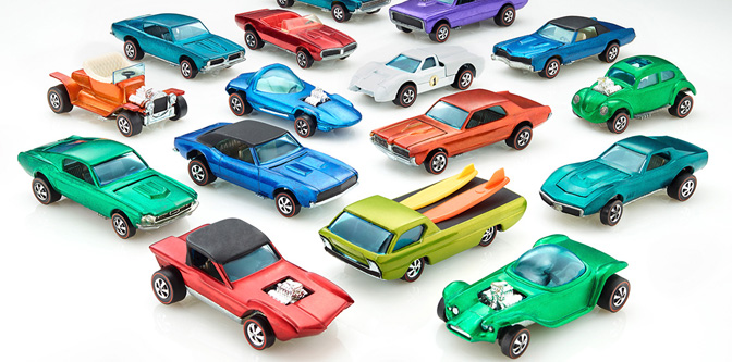 Happy 50th Birthday, Hot Wheels!