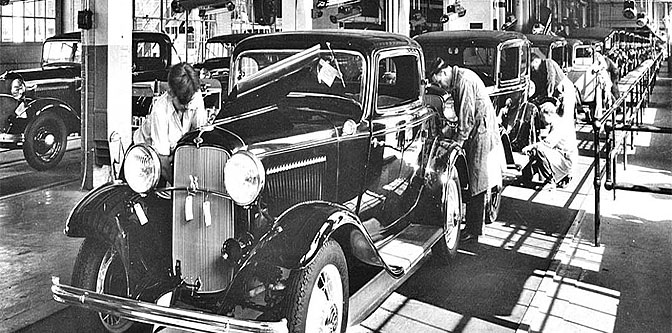 1932 Ford= The Great Depression Buster of Steel Valley