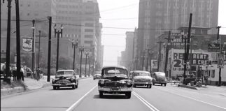 Los Angeles in the late 1940s… A Car Spotter's Game!