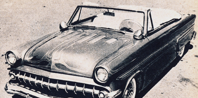 Featured Classifieds: 1954 Ford Sunliner