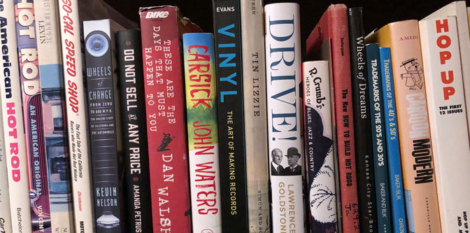 What's New on the Book Shelf?