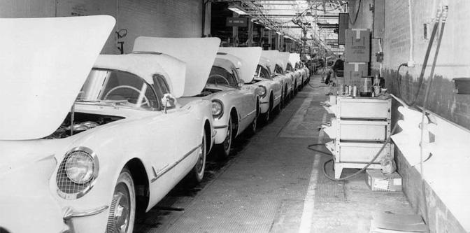 Birth of the Corvette