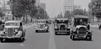 The streets of L.A., circa 1936
