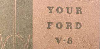 Learning about Your Ford V-8