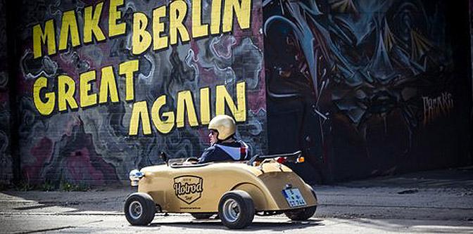 Hot Rodding around Berlin… Sort of.