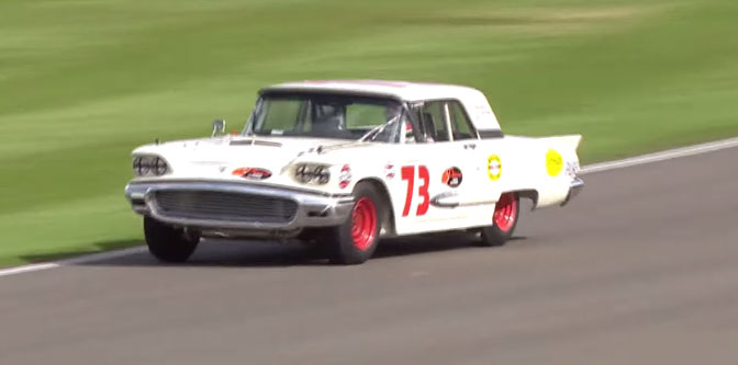 The Mighty Thunderbird of Goodwood