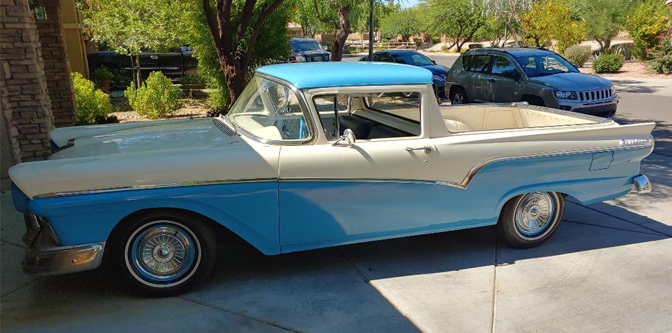 Another Featured Classifieds: 1957 Ford Ranchero