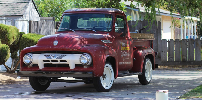 Featured Classifieds: 1954 Ford F100