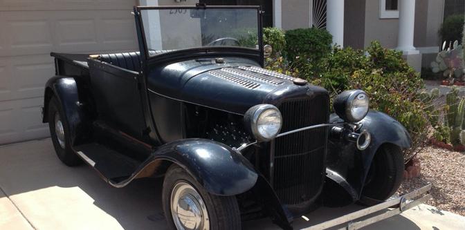 Featured Classified: 1929 A-V8 RPU