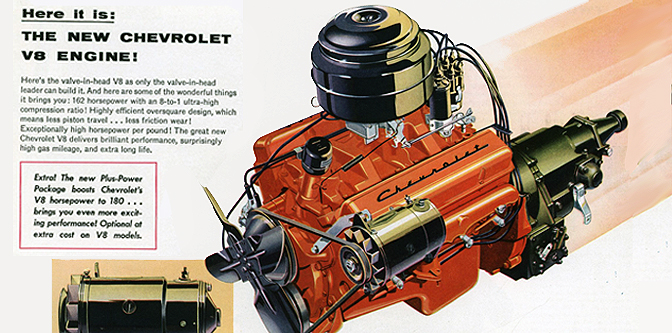 1955: The Chevy V8 Kicked all their Axles