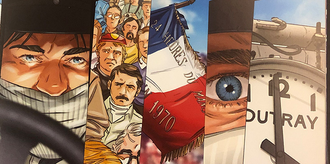 The Graphic Novel of Racing: Steve McQueen in Le Mans