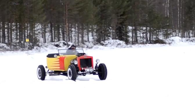 Rodding in a Winter Wonderland