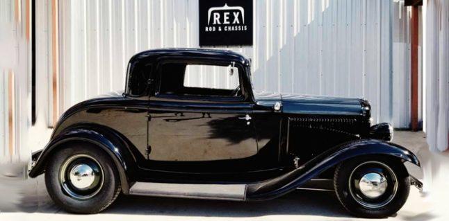 Rex Rod & Chassis Instagram = Paint it Black.