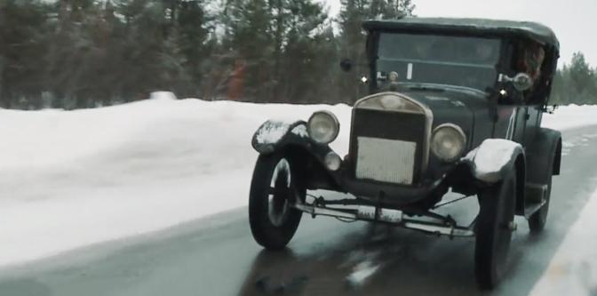 A Winter Road Trip in a Model T