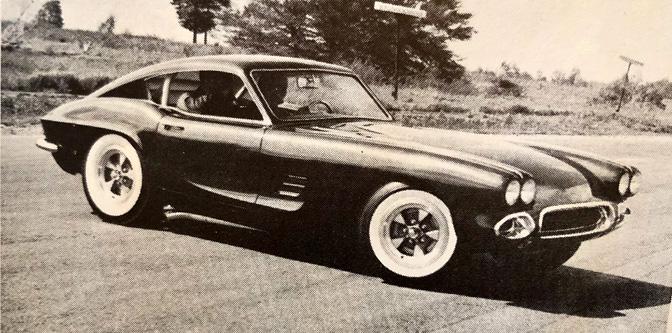 The Dick Shea Custom Corvette