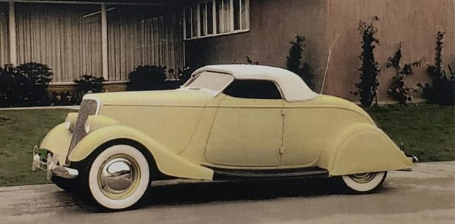 The Wes Collins 1934 Ford Roadster