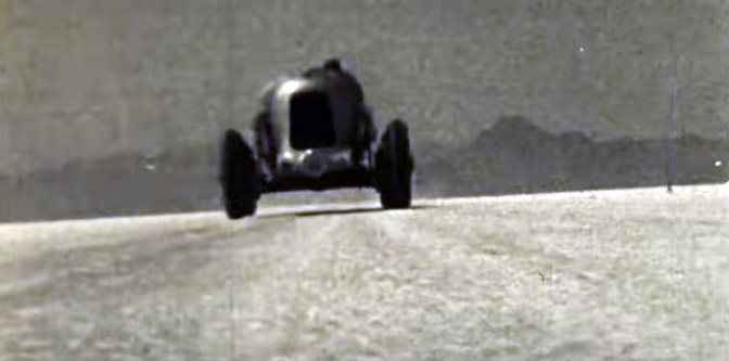 Lets go to the Indy 500 and Bonneville back in 1934