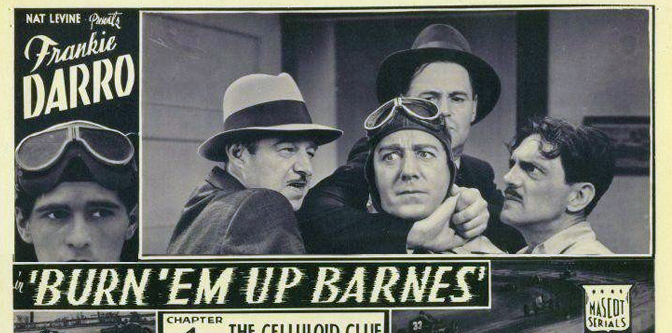 Movie of the Week: Burn 'Em Up Barnes (1934)