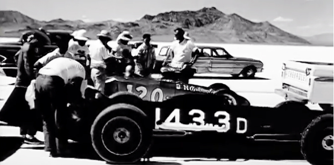 Shooting Around at Bonneville in the 1960s