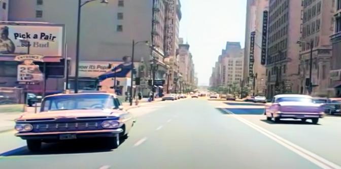 Cruising Los Angeles in 1961…
