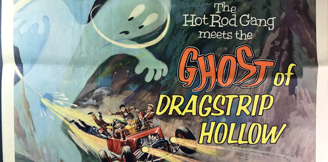 Movie of the Week: The Ghost of Dragstrip Hollow!