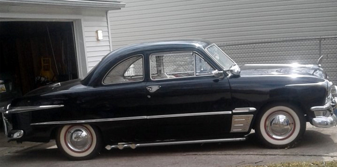 Featured Classifieds: 1950 Ford Coupe