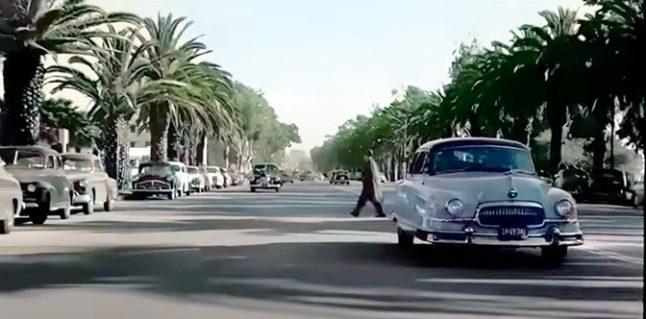 Driving around So-Cal circa 1952…