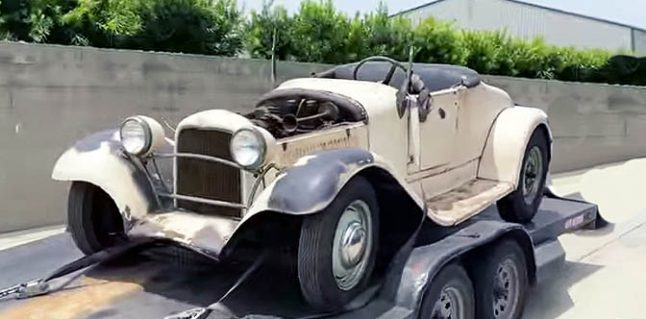A Great Little Barn Find: 1927 Ford Hot Rod