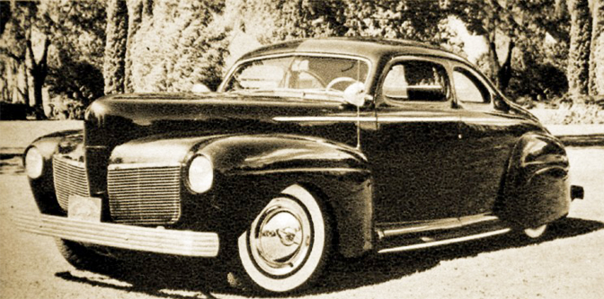 1941 Mercury: One Year Only Styling